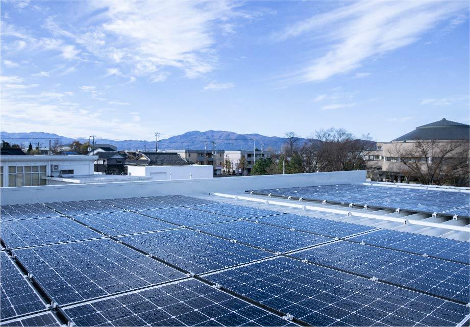 再生可能エネルギーの利用
